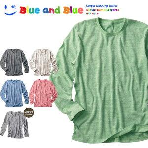 【レビューを書いて大幅値下げ!】BLUE AND BLUE ブルーアンドブルー AUTHENTIC TRI-BLEND 長袖Tシャツ