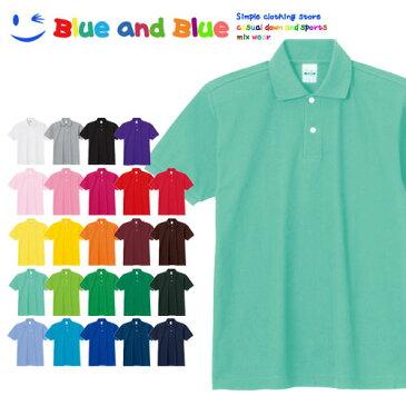 BLUE AND BLUE ブルーアンドブルー キッズ(男の子・女の子) ポロシャツ 半袖