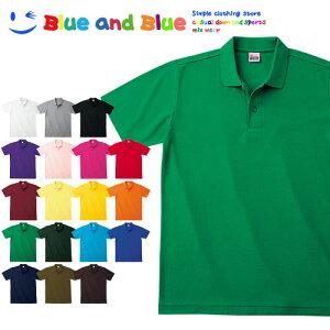 BLUE AND BLUE ブルーアンドブルー ユニセックス(メンズ・レディース) ポロシャツ 半袖