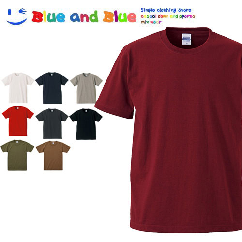 BLUE AND BLUE ブルーアンドブルー メンズ スーパーヘビーウエイト Tシャツ 半袖
