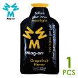 Mag-on マグオン エナジージェル グレープフルーツフレーバー×1個 トレイルランニング 補給食、行動食、エネルギー補給