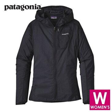 patagonia パタゴニア フーディニ・ジャケット レディース フルジップ ナイロンジャケットパーカー 24146blk