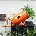 【庭】【置物】【植木鉢】楽しいお庭のオーナメント。花壇やアプローチ、飾り棚に置きたくなる...