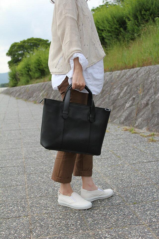 【受注生産】本革バッグ>本革トートバッグ>本革トートバッグ1518F