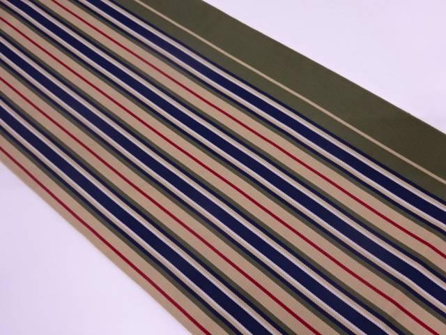 龍村美術織物 たつむら製 まつかぜ間道全通袋帯(未仕立て)【q新品】【着】 宗sou