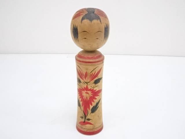 產品詳細資料,日本Yahoo代標 日本代購 日本批發-ibuy99 興趣、愛好 藝術品、古董、民間工藝品 其他 郷土玩具 須貝国男造 こけし(25cm)【中古】【道】 宗sou