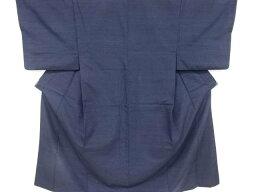 手織り真綿紬男物着物アンサンブル【リサイクル】【中古】【着】 宗sou