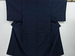 抽象模様織り出し手織り紬男物着物【リサイクル】【中古】【着】 宗sou