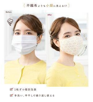 手洗いで繰り返し使えるマスク