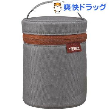 サーモス スープジャーポーチ グレー REB-004 GY(1コ入)【サーモス(THERMOS)】