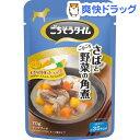 【訳あり】ごちそうタイム パウチ さばとごろごろ野菜の角煮(70g)【ごちそうタイム】[ドッグフード]