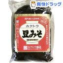 カクトウ醸造 豆みそ(500g)【カクトウ醸造】