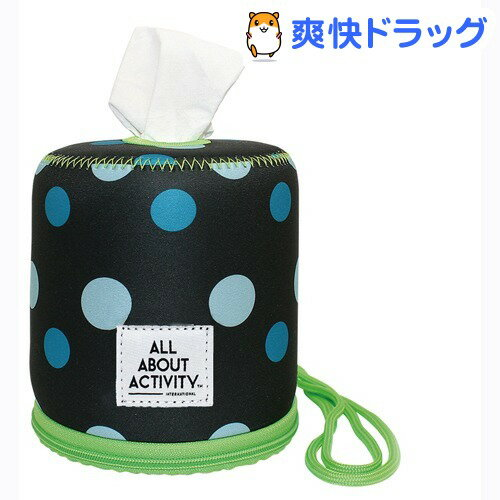 ALL ABOUT ACTIVITY ロールペーパーバッグ ポルカドット ROZ0304(1コ入)画像