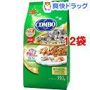 コンボ 猫下部尿路の健康維持 まぐろ味・かつお節・小魚添え(70g*5袋入*12コセット)【コンボ(COMBO)】