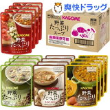 カゴメ 野菜たっぷりスープ(4種*4袋入)