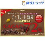 チョコレート効果72% 粗くだきカカオ豆(40g)