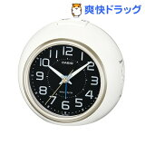 カシオ 電波置時計 ホワイト・シャンパンゴールド TQ-760J-7BJF(1コ入)
