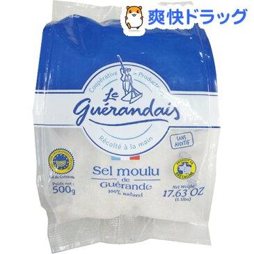 ゲランドの塩 細粒塩(500g)【オルタートレードジャパン】