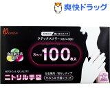やわらかニトリル手袋 Sサイズ(100枚入)