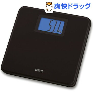 タニタ デジタルヘルスメーター ブラック HD-662(BK)(1台)【タニタ(TANITA)】【送料無料】