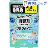消臭力 プラグタイプ つけかえ 清潔感のあるアクアブルーの香り(20mL)