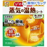 めぐりズム 蒸気の温熱シート 肌に直接貼るタイプ(4枚入)