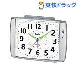 カシオ 置時計 シルバー TQ-382-8JF(1コ入)