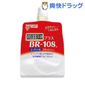 蒟蒻畑 プラスBR-108 ヨーグルト味 クラッシュタイプ
