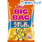 カルビー ポテトチップス ビッグバッグ うすしお味(170g)【カルビー ポテトチップス】