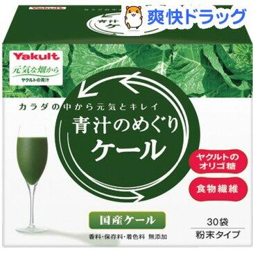 元気な畑から 青汁のめぐり ケール(30袋入)【元気な畑】[青汁 ヤクルト 青汁のめぐり]