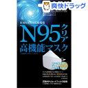 【訳あり】N95クリアマスク(1枚入)