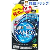 トップ スーパーナノックス for MEN フレッシュブリーズの香り つめかえ用特大(840g)