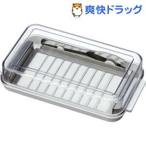 ステンレスバターカッター&ケース バターナイフ付☆送料無料☆ステンレスバターカッター&ケー...