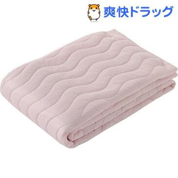 東京西川 敷きパッド リバーシブル 接触冷感 ひんやり ピンク シングル PM08001015P(1枚入)【東京西川】
