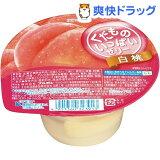 くだものいっぱいゼリー 白桃(160g)
