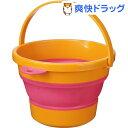 ソフトバケツ ミニ オレンジ(1コ入)
