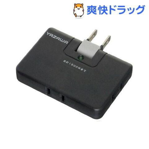 雷サージ付コーナータップ 13000V ブラック HCK153BK(1コ入)