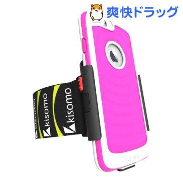 キソモ iPhone6 ケース一体型アームベルト エナジア ピーチ KS5341i6(1コ入)【キソモ】