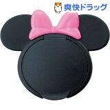 ミニーマウス ウエットティッシュふた BK*P (ブラック/ピンク)(1コ入)