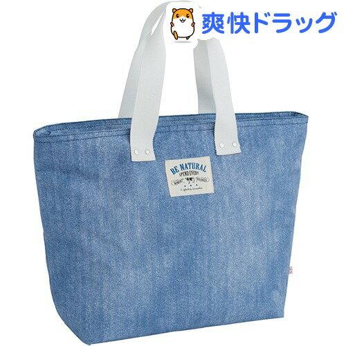 インディ 保冷 保温 トートバッグ L ブルー 13L M-12551(1コ入)