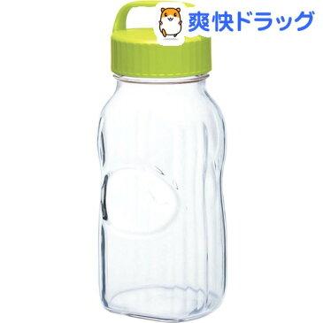 漬け上手 果実酒ポット オリーブグリーン 2000mL 日本製 I-77861-OG-B-JAN(1コ入)
