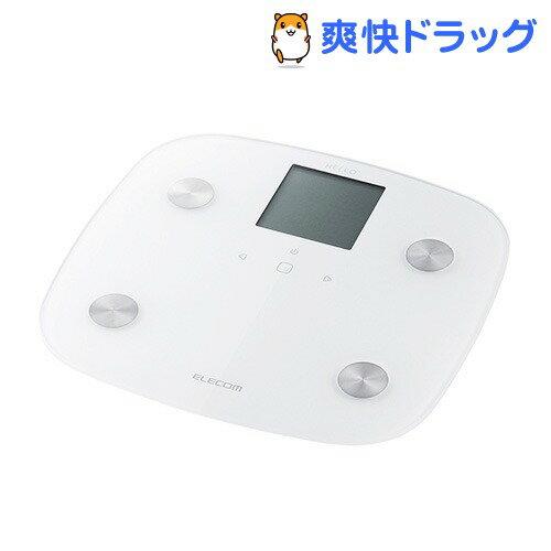 エレコム ハロー 体組成計 ホワイト HCS-RFS01WH(1台)【エレコム(ELECOM)】【送料無料】