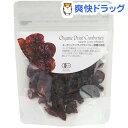 ナチュラルキッチン オーガニック ドライクランベリー 砂糖不使用(60g)【ナチュラルキッチン】 その1