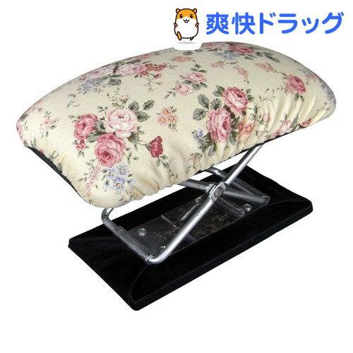 正座椅子 楽々 コンパクトタイプ 携帯用 花柄 約17.5*11*72~145cm 20124(1コ入)
