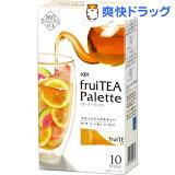 キーコーヒー フルーティーパレット ミックスフルーツティー(10本入)