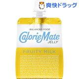 カロリーメイト ゼリー フルーティミルク味(215g)