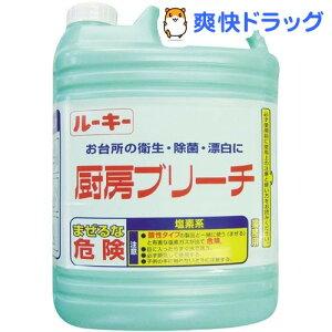 ルーキー 厨房ブリーチ(5kg)【HLS_DU】 /【ルーキー】[漂白剤]