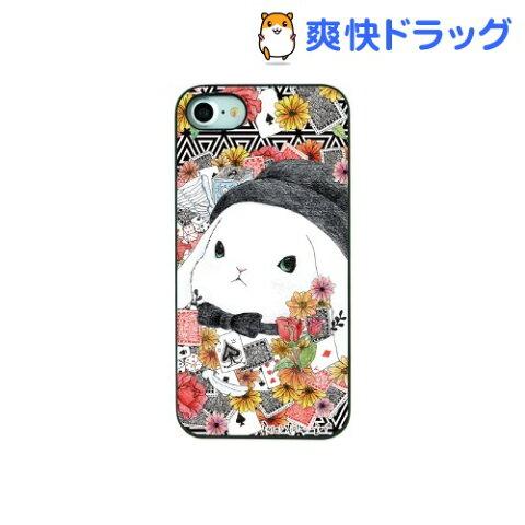 ディーパークス iPhone7 ブラックケース ファンタジーラビット マジシャンラビット(1コ入)【ディーパークス(DPARKS)】