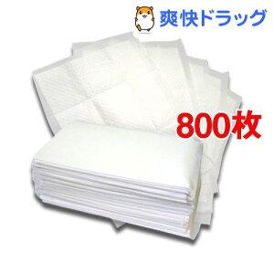 国産ペットシーツ レギュラー 薄型プラス(200枚入*4コセット)【爽快ペットオリジナル】[8…