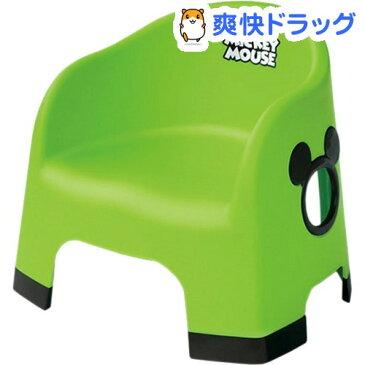 ミッキーマウス ララチェア グリーン(1コ入)【ララチェア】